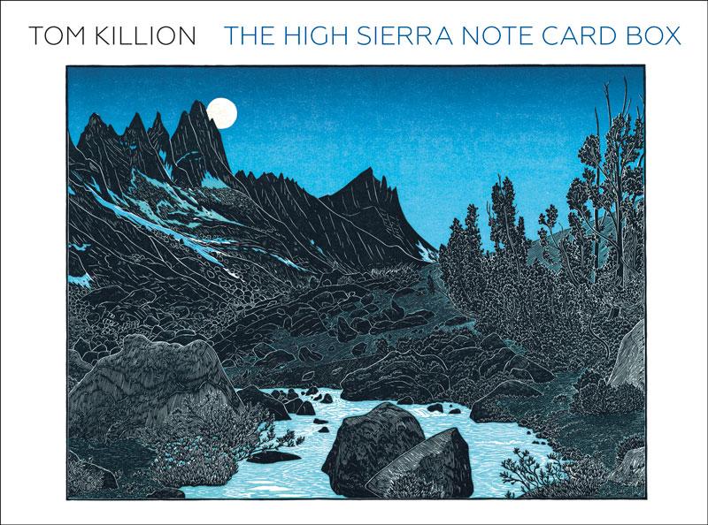 The High Sierra Note Card Box