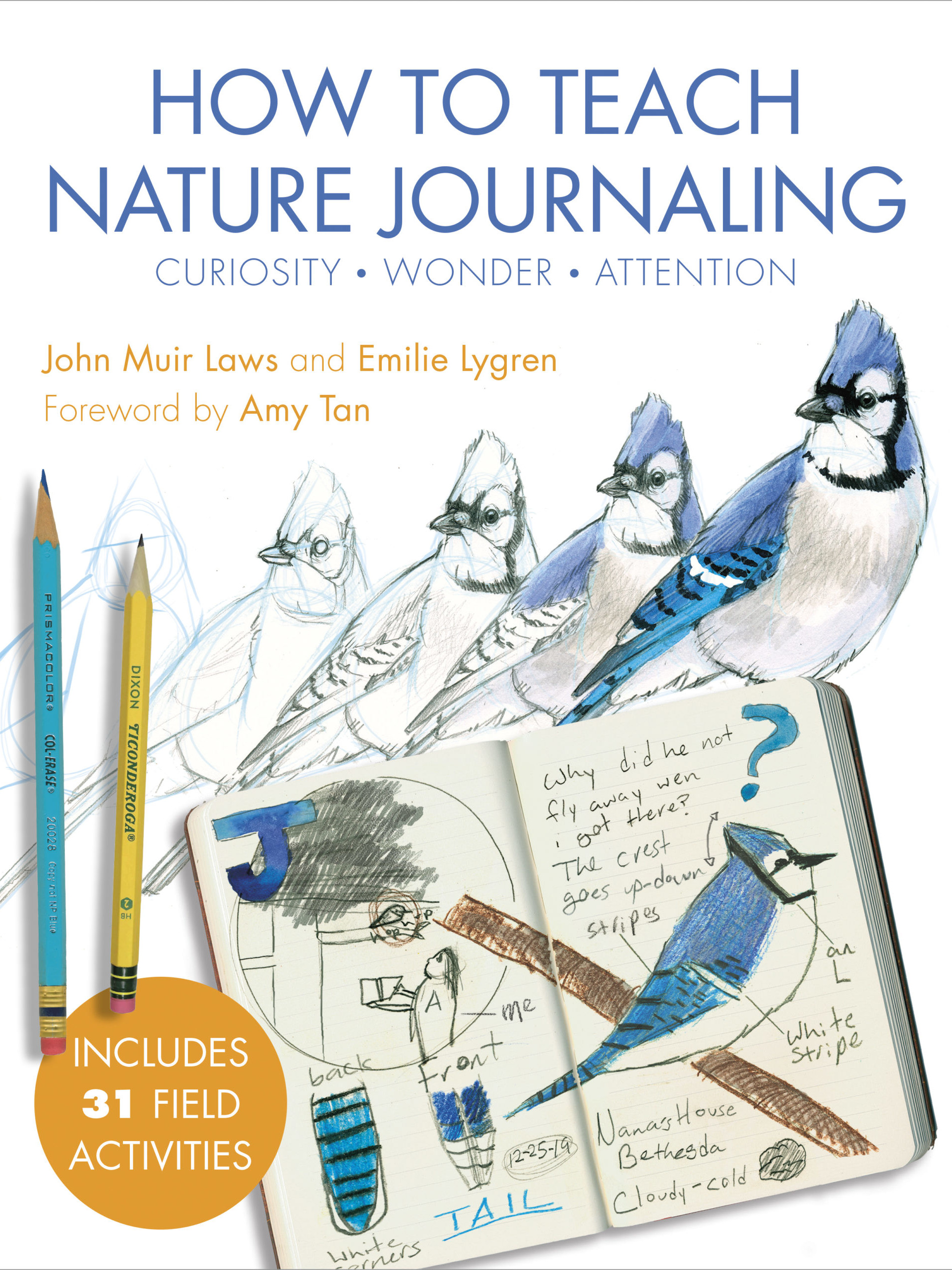 photo of book titled How To Teach Nature Journaling