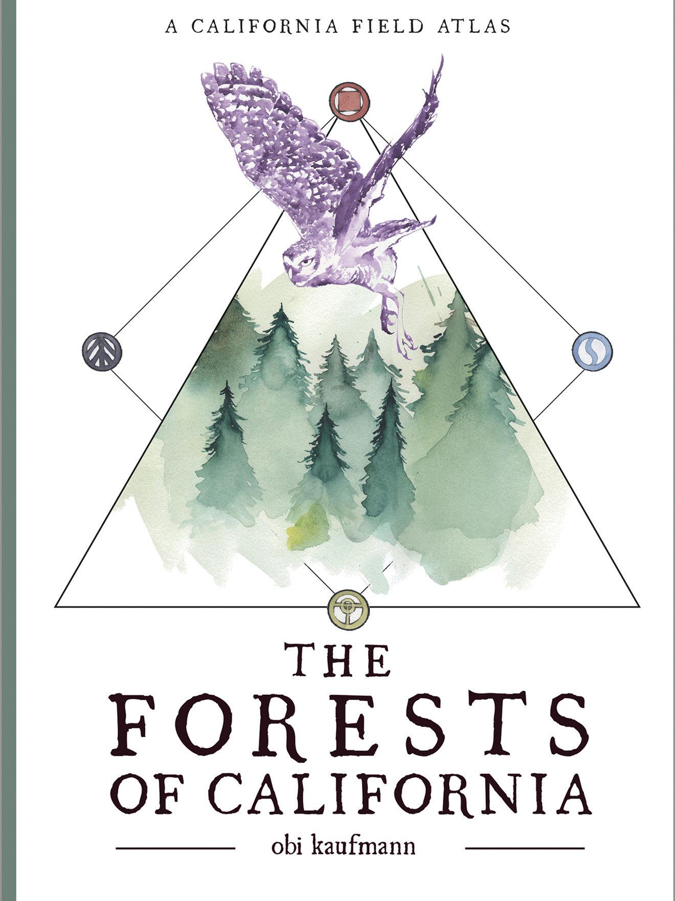 photo of book titled The Forests of California by Obi Kaufmann